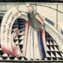 Lady Temperance, from Martin Le Franc, Le Champion des dames (c.1442); Grenoble, Bibliothèque Municipale, MS 352 Rés, fol. 424v